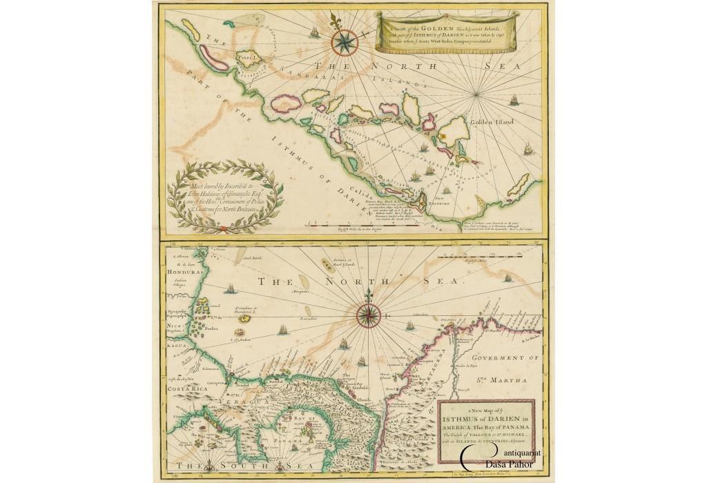 PANAMA: THE SCOTTISH �DARIEN SCHEME�: A DRAFT: John SENEX (1678