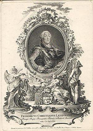 Fridericus Christianus Leopoldus Princeps Regius Primogenitus Poloniae: Johannes Esaias Nilson