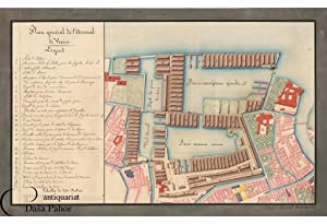 ARSENAL OF VENICE, ITALY: PLAN GÉNÉRAL DE L'ARSENAL DE VENISE.