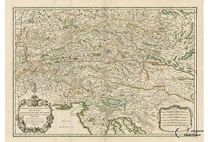 SLOVENIA, ISTRIA & AUSTRIA: PARTIE DU CERCLE: Nicolas SANSON (1600