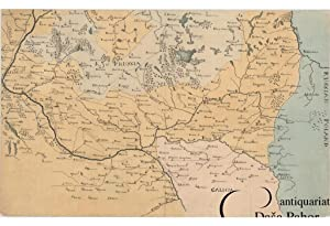 POLAND ? MANUSCRIPT MAP: [UNTITLED MANUSCRIPT MAP OF CENTRAL POLAND].