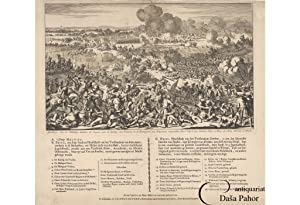 FREDERICK THE GREAT / POLAND - BATTLE OF MOLLWITZ (MA?UJOWICE) BROADSIDE: AFBEELDINGE VAN DE VELD...