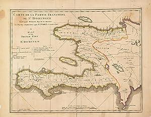 Haiti Carte De La Partie Francoise De St