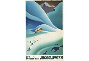 POSTER: WINTER IN JUGOSLAWIEN.