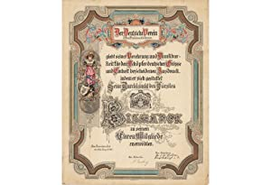SAN FRANCISCO / OTTO VON BISMARCK / FINE MANUSCRIPTS: DER DEUTSCHE VEREIN IN SAN FRANCISCO, CALIF...