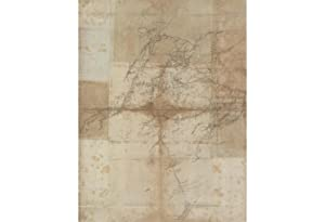 AFGHANISTAN ? KANDAHAR / URUZGAN / HELMAND: [Untitled Manuscript Map of the Region to the North o...
