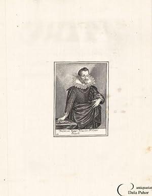 FUGGER - PORTRAIT: Fridericus Fugger Filius II: Anon.
