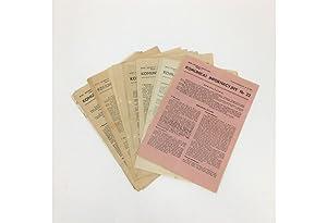 Komunikat Informacyjny, 20 Issues: Nos. 19, 22,: ARMIA KRAJOWA (AK)