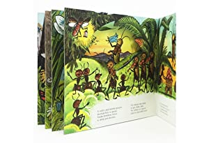 POP-UP BOOKS: Cricek in mravlje [Cvrcek a mravenci / Cricket and Ants]