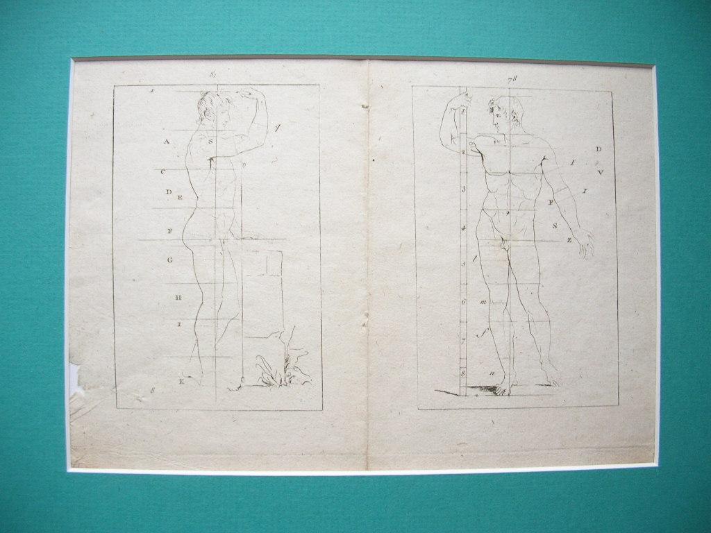 "1 Blatt (2 Seiten) aus: ""Traite elementaire: Jean Franc. Bosio"