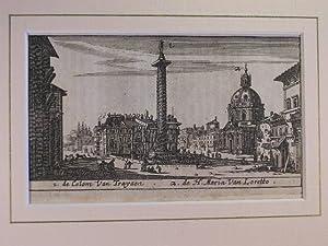 Trajanssäule und St. Maria von Loreto (S. Maria di Loreto) //: Rom - (Chiese e Palazzi di Roma):
