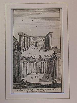Caesarforum, Tempel des Mars Ultor, Nervaforum //: Rom - (Kaiserfora)