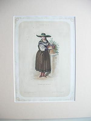 "Femme de Meran (Tyrol)"" //: Meran - Tracht"