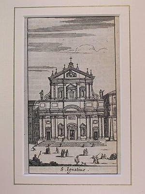 S. Ignatio (Sant' Ignazio) //: Rom - (Chiese e Palazzi di Roma):