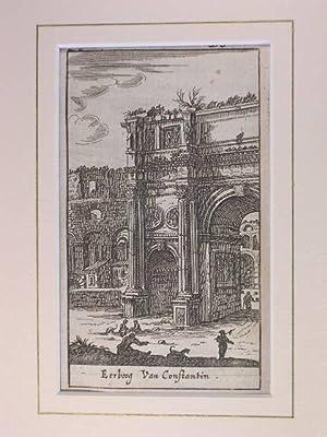 Arco di Costantino (Triumphbogen des Constantin) //: Rom - (Chiese e Palazzi di Roma):