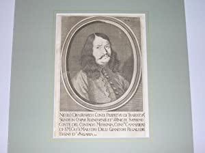 """Nicolo Draskowich Conte Perpetuo di Trakostyan, """" (Brustbild nach viertellinks). //&..."""