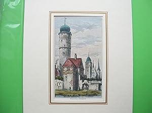 "Watch tower, Ochsenfurth."" //: Ochsenfurt -"