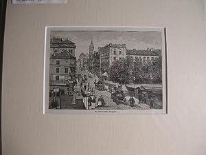 Königsberg - Die Kneiphofsche Langgasse. //: Königsberg -