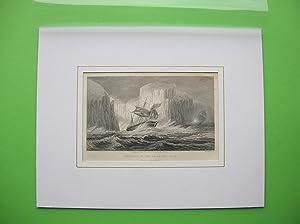 "Icebergs in the Antarctic Seas."" //: Eisberge)"
