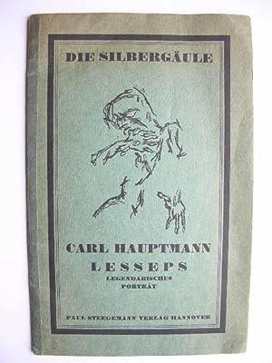 "Lesseps."" //: Carl Hauptmann"