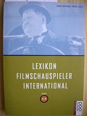 Lexikon Filmschauspieler International. Band L - Z: Bock, Hans-Michael: