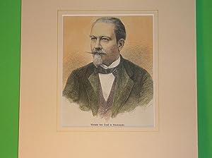 Adolphe van Soust de Borckenfeldt (Brustbild nach halblinks) //: Porträt) -