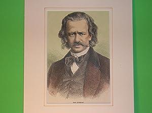 Emil Brachvogel (Brustbild) //: Porträt) -