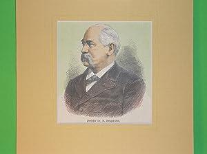 H. Brugsch-Bey (Brustbild nach halblinks) //: Porträt) -