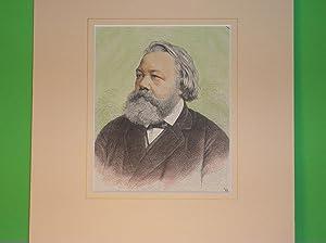 Ferdinand Freiligrath (Brustbild nach halblinks) //: Porträt -