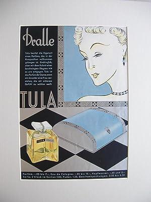 """Parfümwerbung für die Marke """"Tula"""" der Firma Dralle //: Werbeseite ..."""
