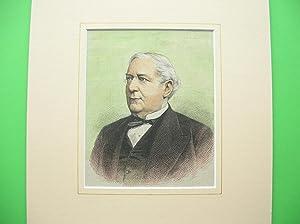 Bernhard Ernst von Bülow (Brustbild nach halblinks) //: Porträt -