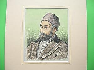 Osman Ghazi (Brustbild nach halblinks) //: Porträt) -