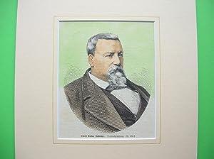 Gustav Schleicher (Oberst der Texas Ranger, Gründer der Stadt Cuero (Texas), Staatssenator) &#...