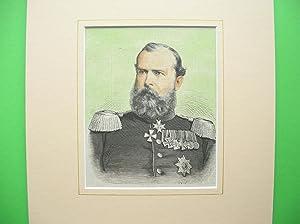 Großherzog Ludwig IV. von Hessen (Brustbild nach viertellinks) //: Porträt) -