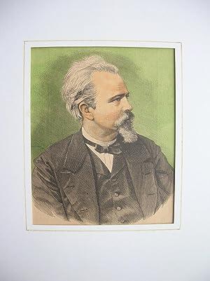 Franz von Holtzendorff (Brustbild nach halbrechts) //: Porträt) -