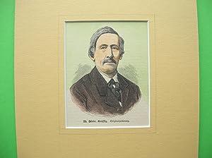 Th. Friedrich Kreyssig (Brustbild en face) //: Porträt -