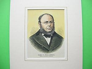 Prof. Dr. Wilhelm Klinkerfues (Brustbild nach viertelrechts) //: Porträt) -
