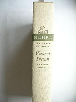 Nehru - The Years of Power. //: Sheean, Vincent :