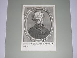 Brustbild im Oval.: Kutschiut Meheumet Pascia di Varadino.