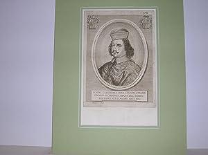 Kardinal Flavio Chigi. (Brustbild nach halblinks) //: Flavio Cardinale Chigi, Legato ...