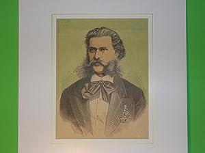 Johann Strauß (Sohn) - Brustbild nach viertellinks //: Porträt) - Johann Strauß (...