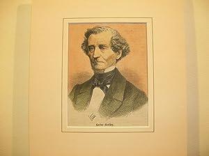 Hector Berlioz (Brustbild nach viertellinks) //: Porträt) -