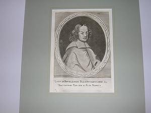 """Luigi di Bourlemon Plenipotentiario al Trattato di Pisa per il Re di Francia."""" //"""