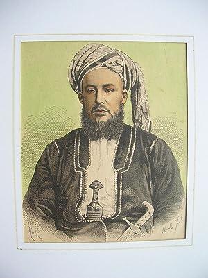 """Said Bargasch, Sultan von Sansibar."""" //: Porträt) -"""