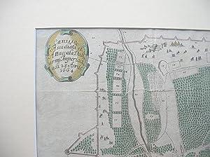 "Canissa Assediata et Attaccata dall armi Imperiali - 28. Aprile 1664"" //: Kanizsa / ..."