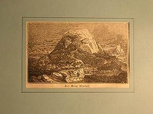 "Der Berg Thabor.""): Berg Tabor, Palästina."