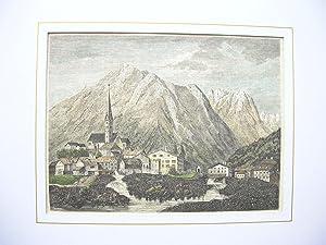Holzgau mit Mädelegabel und Kratzerspitzen. //: Tirol / Lechtal)