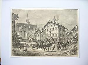 Piesendorf im Pinzgau. (Teilansicht): Piesendorf -