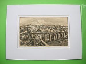 Luxemburg (Stadt) Gesamtansicht //: Ville de Luxembourg (Vue d'ensemble)