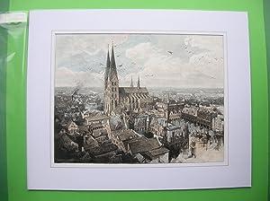 Lübeck - Gesamtansicht. //: Lübeck -